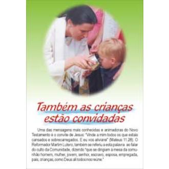 Santa Ceia para Crianças